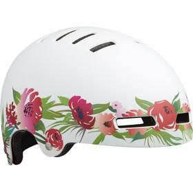 Lazer Street+ Helmet Juniors matte flower pink-white